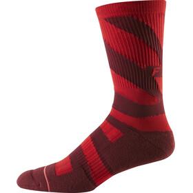 "Fox 8"" Trail Cushion - Calcetines Hombre - rojo"